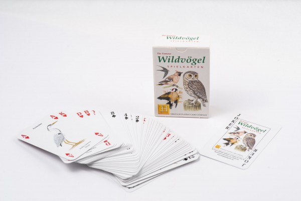 Heritage Spielkarten Wildvögel