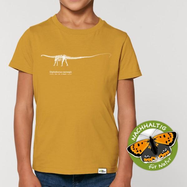 Kider T-Shirt Diplodocus ochre