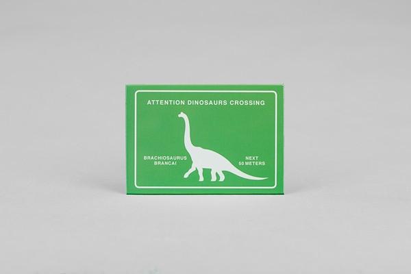 Postkarte Brachiosaurus Crossing