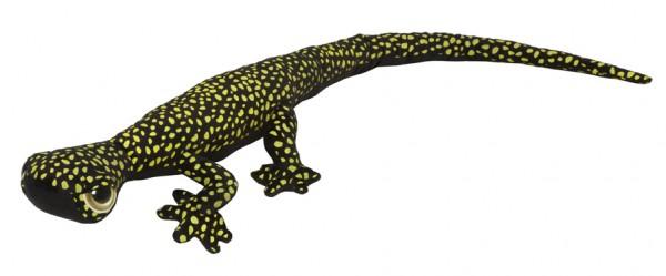 Gecko Kuscheltier, schwarz