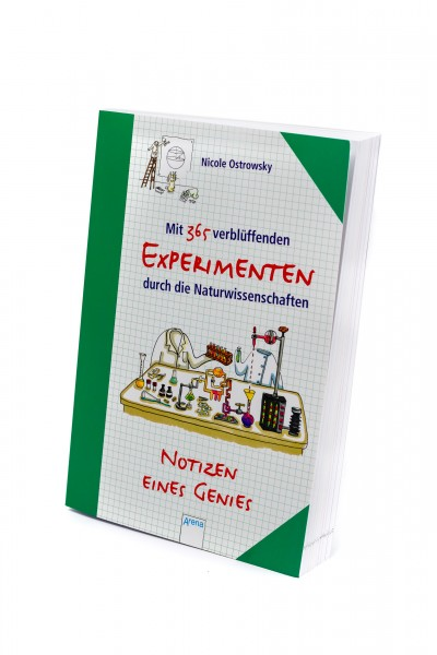 365 Experimenten durch die Naturwissenschaften