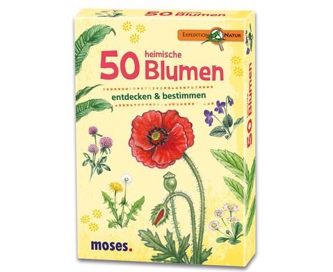 Moes Verlag Expedition Natur 50 heimische Blumen