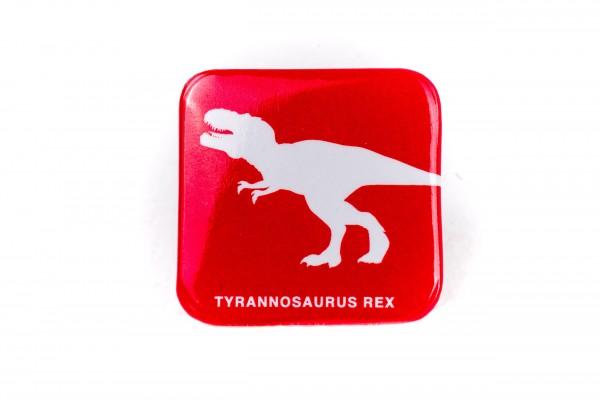 Button Anstecker T-Rex Rot