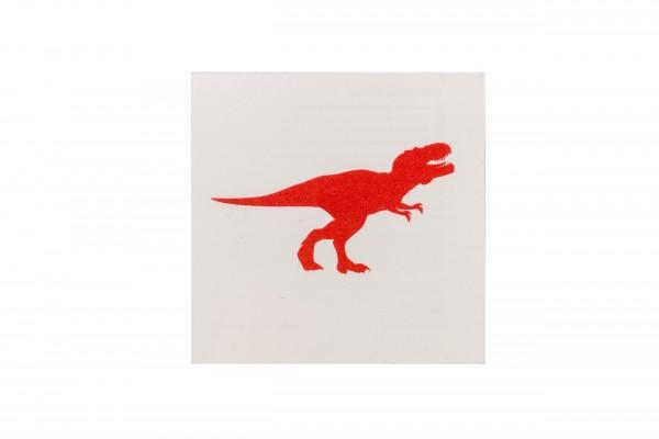 Tattoo T-Rex rot