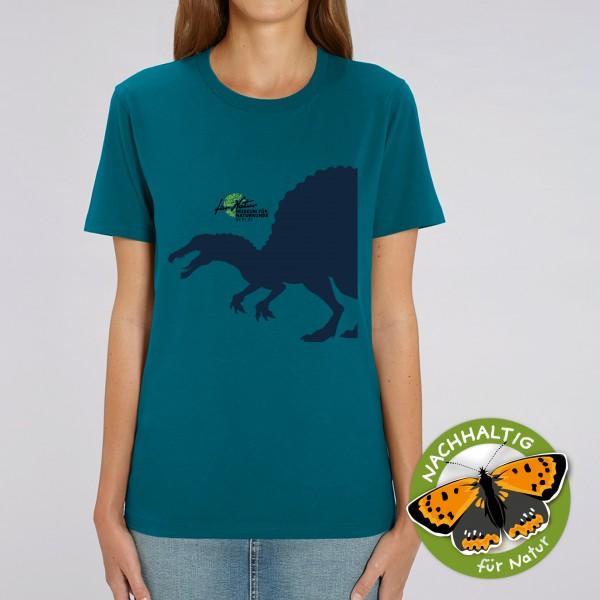 Unisex Shirt Dino-Silouhette Spino Ocean Depth