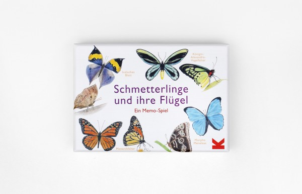 Schmetterlinge und ihre Flügel Memory