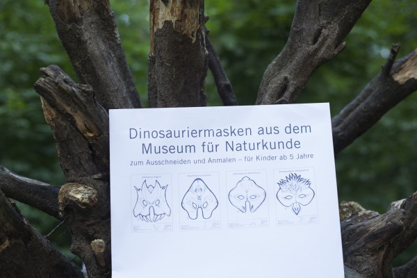 Dinosaurier Maskenset