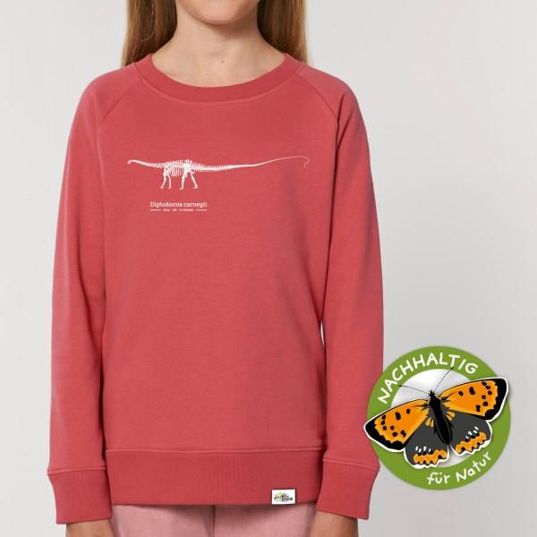 Kinder Sweatshirt Carmine Rot