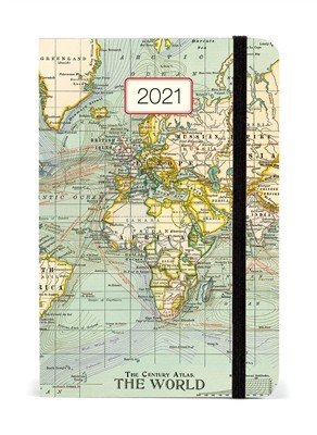 Planer 2021 Maps Cavallini