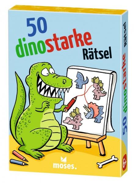 Moses Verlag 50 Dinostarke Rätsel