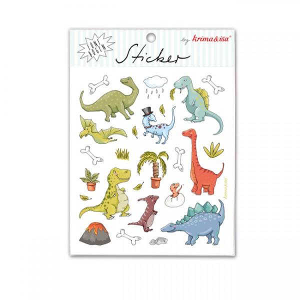 Sticker Dinosaurier von Krima und Isa