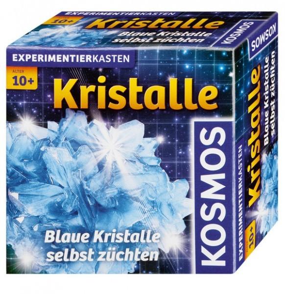 Kristalle züchten, blau