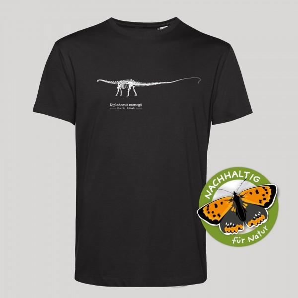 T-Shirt Diplodocus schwarz