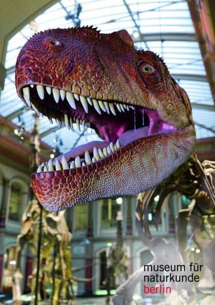Magnet Allosaurus Kopf