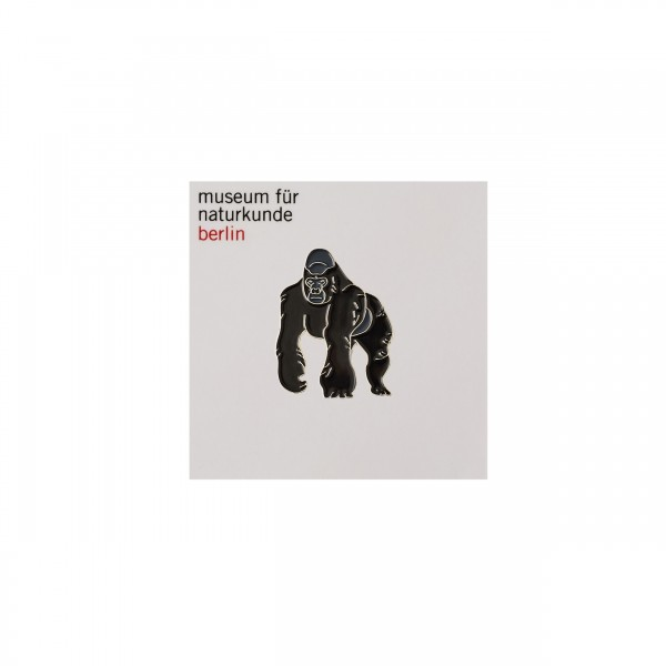Gorilla Emaille Pin