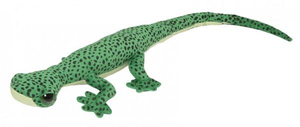 Gecko Kuscheltier grün