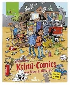 Krimi Comics zum Lesen und Mitraten Geolino Band 1