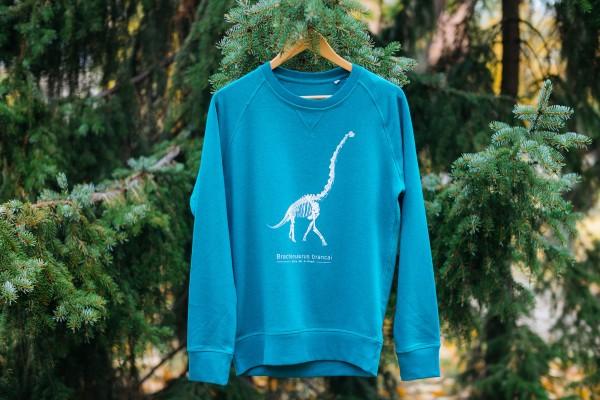 Sweatshirt Dinosaurier Brachiosaurus Skelett