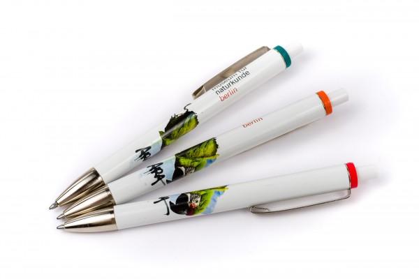 Kugelschreiber Ara Ausstellungsmotiv
