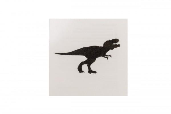 Tattoo T-Rex schwarz