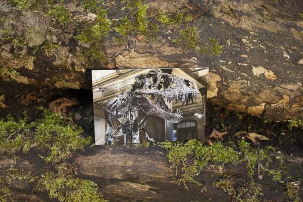 Postkarte Saalansicht Tristan Otto Querformat