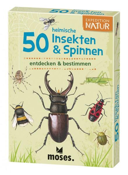 Moses Verlag Expedition Natur - 50 heimische Insekten & Spinnen