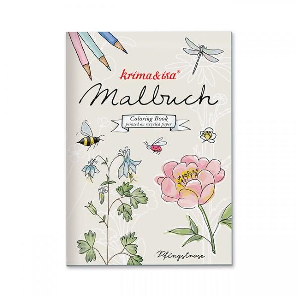 Malbuch Gartenliebelei von Krima & Isa