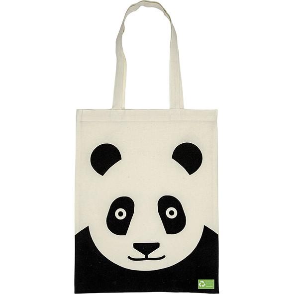 Stofftasche Panda Ökobaumwolle