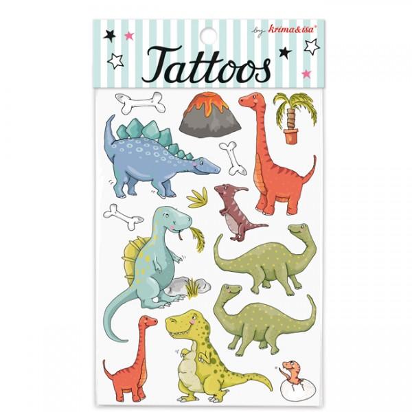 Tattoo Dinosaurier Krima und Isa