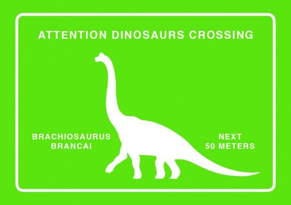 Magnet Brachiosaurus Crossing
