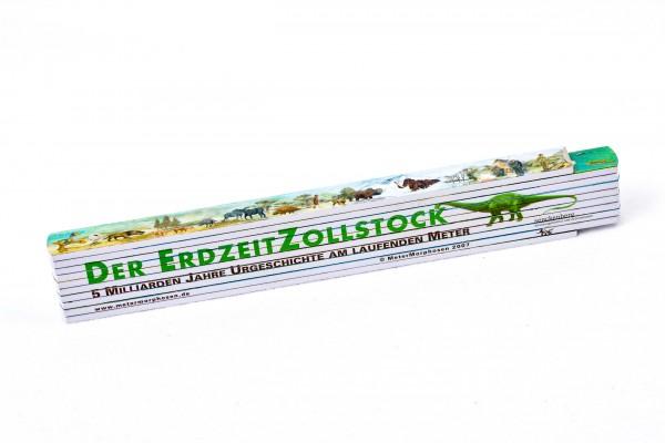 Der Erdzeit Zollstock