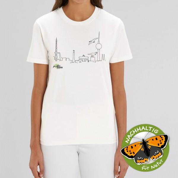 Unisex Shirt Dino-Skyline off white