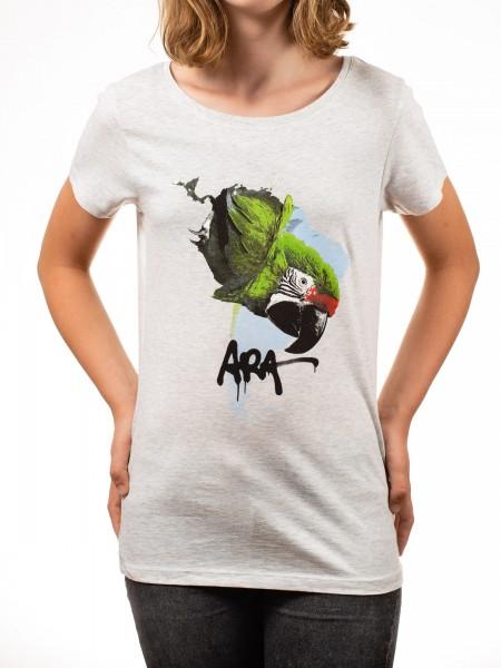 T-Shirt Ara Ausstellungsmotiv Damen