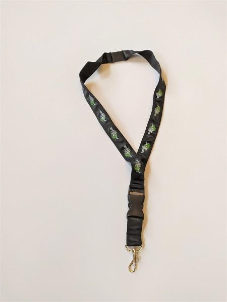 Schlüsselband schwarz mit MFN Logo