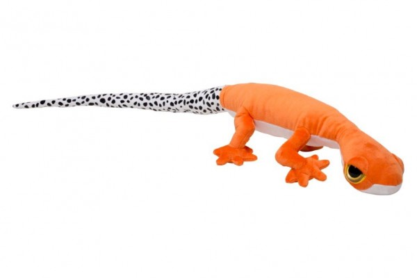 Gecko Kuscheltier orange