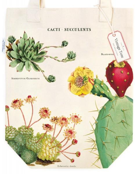 Tasche Cacti und Succulents von Cavallini