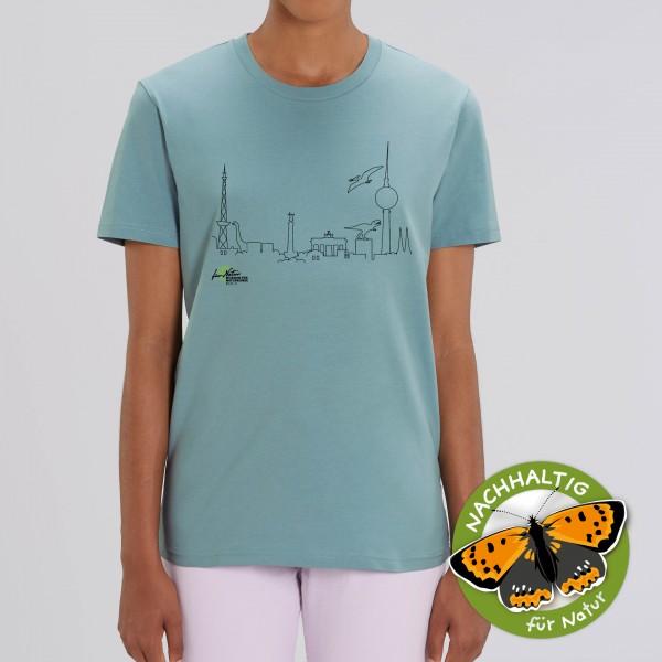 Unisex Shirt Dino-Skyline Citadel Blue