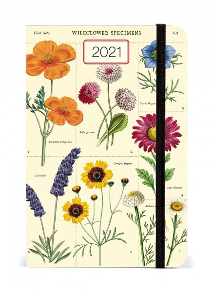 Taschenkalender Wildflowers Cavallini