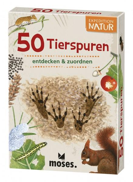 Moses Verlag Expedition Natur - 50 Tierspuren